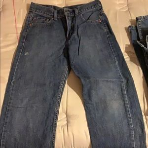 550 Levi's boys jeans blue size 26 x 27 relaxed 14